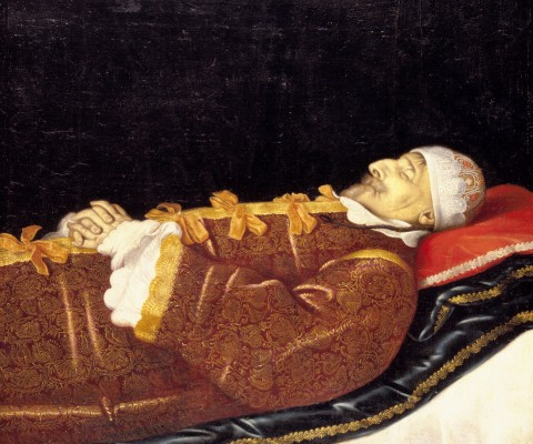 Christian 4. på dødslejet - Kongernes Samling