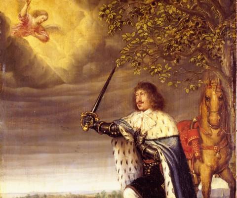Portræt på Rosenborg af Frederik 3. 1659 - Kongernes Samling