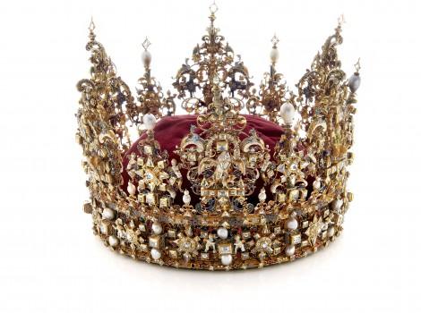 Christian 4.s krone på Rosenborg - Kongernes Samling