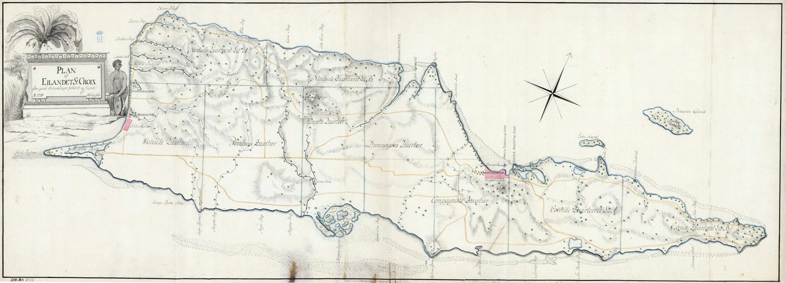 byer på de vestindiske øer