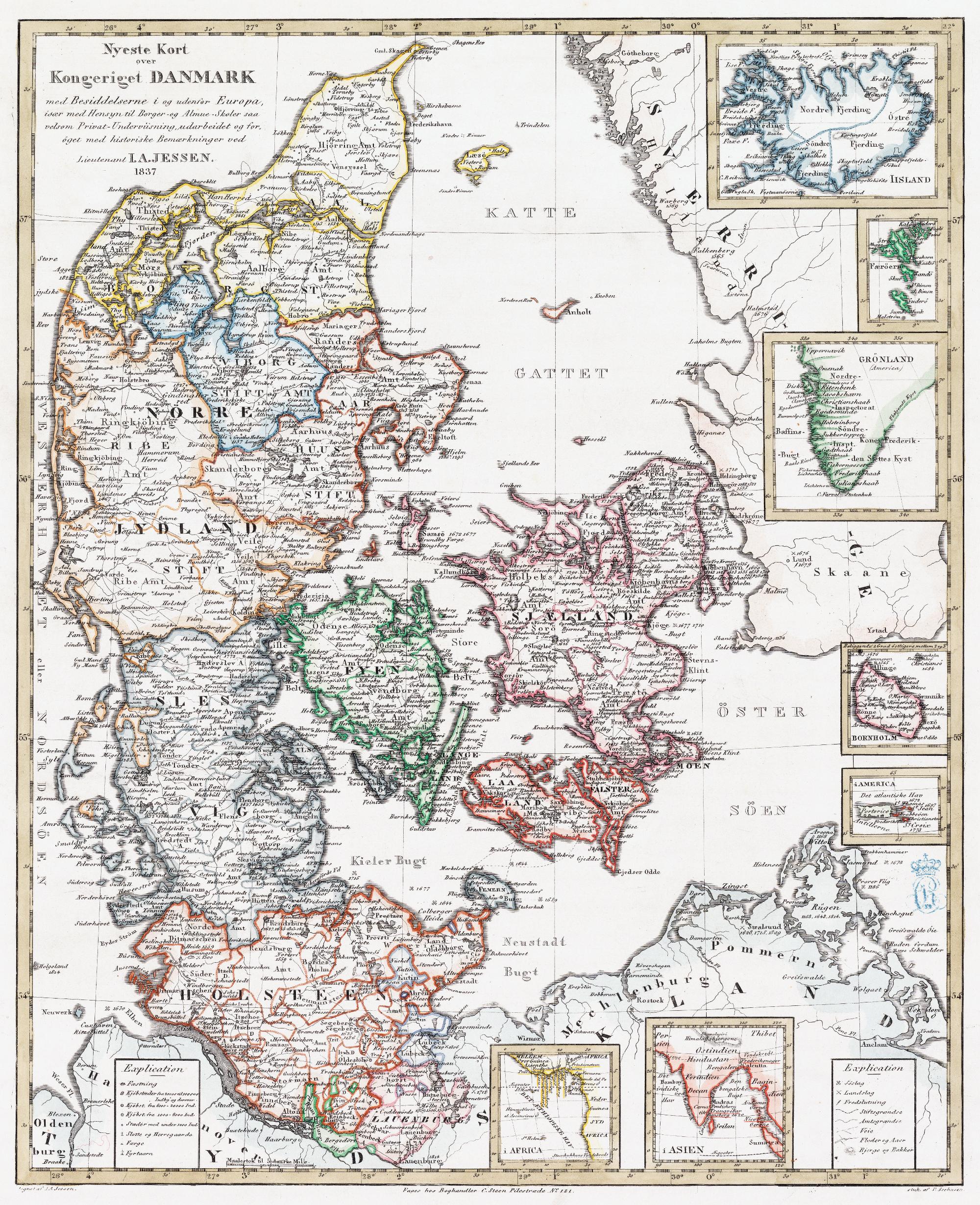 De Danske Kolonier Kongernes Samling
