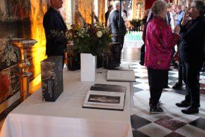 Fejring af Heins bogudgivelse i Riddersalen på Rosenborg