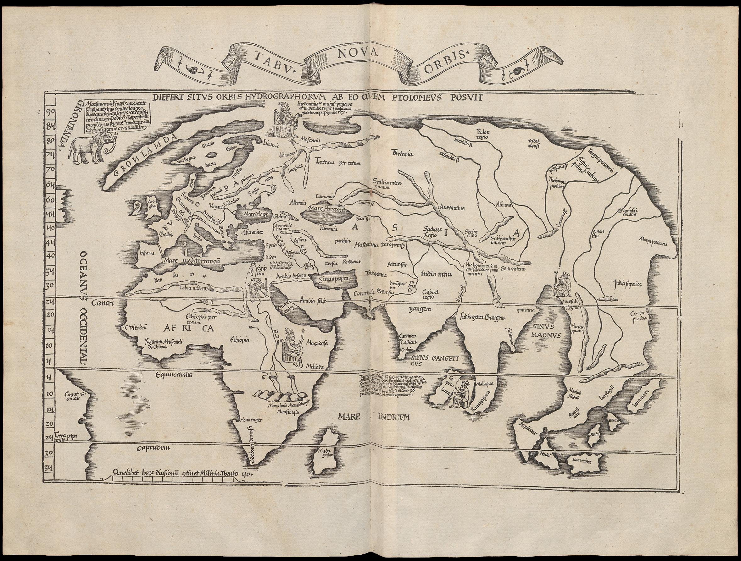 Verden Omkring Ar 1500 Vores Aeldste Kort Kongernes Samling