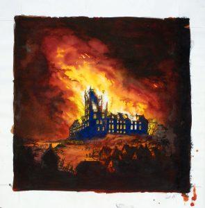 Branden 1808 på Koldinghus
