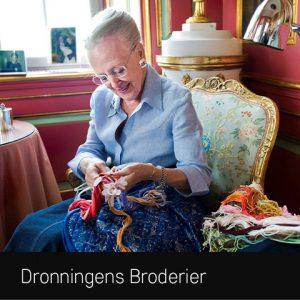 Se Dronningens Broderier på Koldinghus