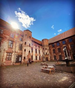 Slotsgården på Koldinghus