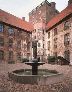 Fortuna - Jette Vohlert fontæne i Slotsgården